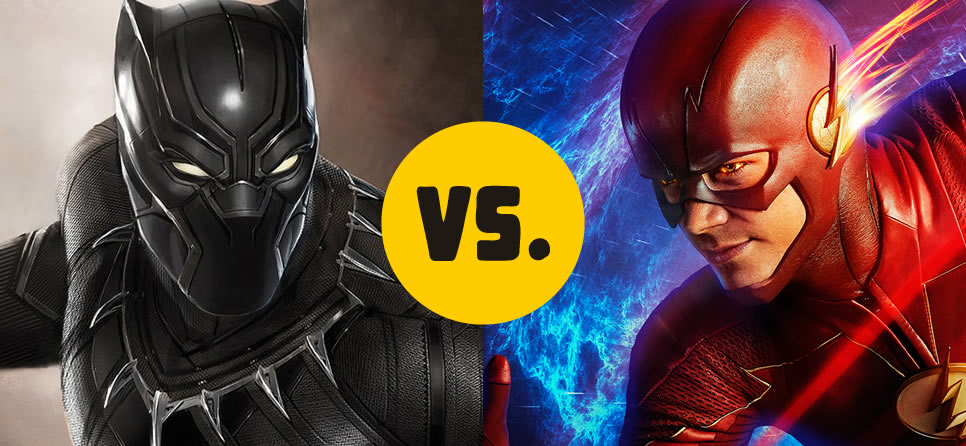 The Black Panther vs. The Flash