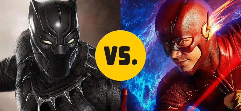 The Flash vs  The Black Panther | James Kakalios : James